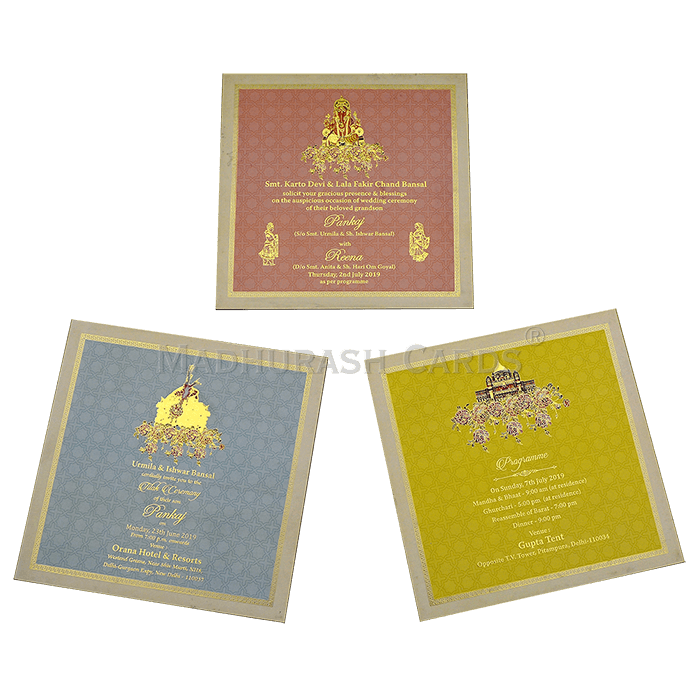 Luxury Wedding Cards - LWC-11 - 5