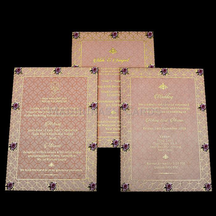 Luxury Wedding Cards - LWC-13 - 5