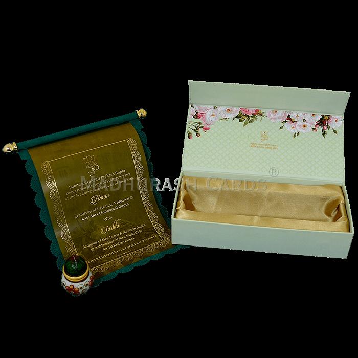 Luxury Wedding Cards - LWC-16 - 5