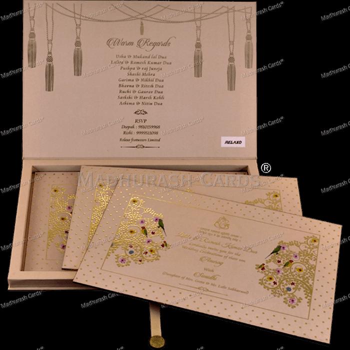 Luxury Wedding Cards - LWC-17 - 4