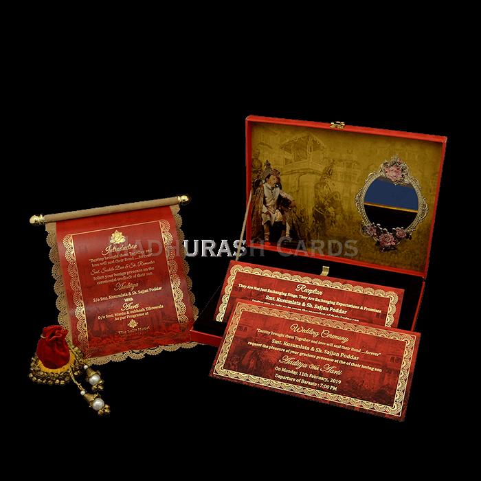 Luxury Wedding Cards - LWC-19 - 5