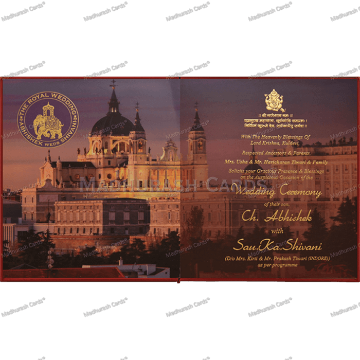 Luxury Wedding Cards - LWC-20 - 5