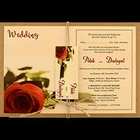 Kraft Wedding Invitations - KWC-8950