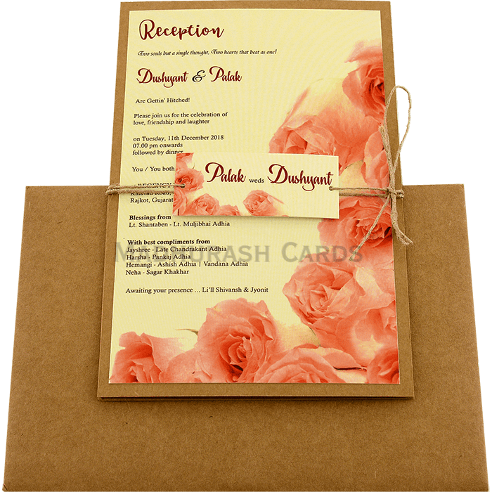 Custom Wedding Cards - CZC-8949 - 3