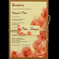 Kraft Wedding Invitations - KWC-8949