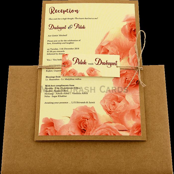 Kraft Wedding Invitations - KWC-8949 - 3