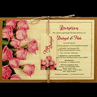 Kraft Wedding Invitations - KWC-8948