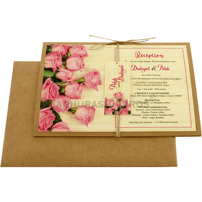 Kraft Wedding Invitations - KWC-8948 - 3