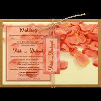 Kraft Wedding Invitations - KWC-8947