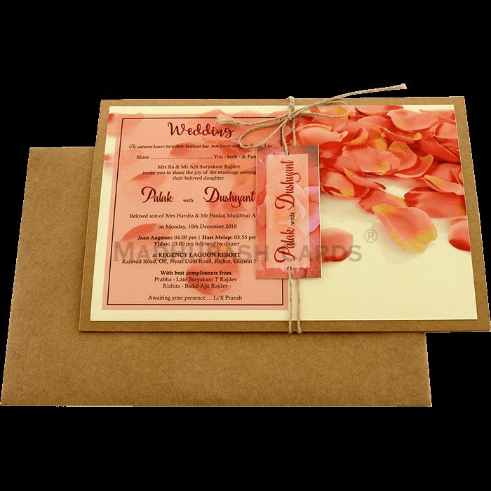 Kraft Wedding Invitations - KWC-8947 - 3