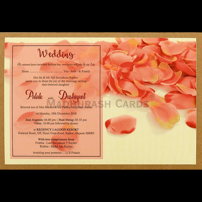 Kraft Wedding Invitations - KWC-8947 - 5
