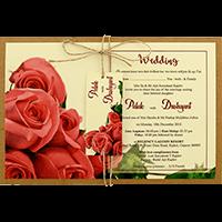 Kraft Wedding Invitations - KWC-8945