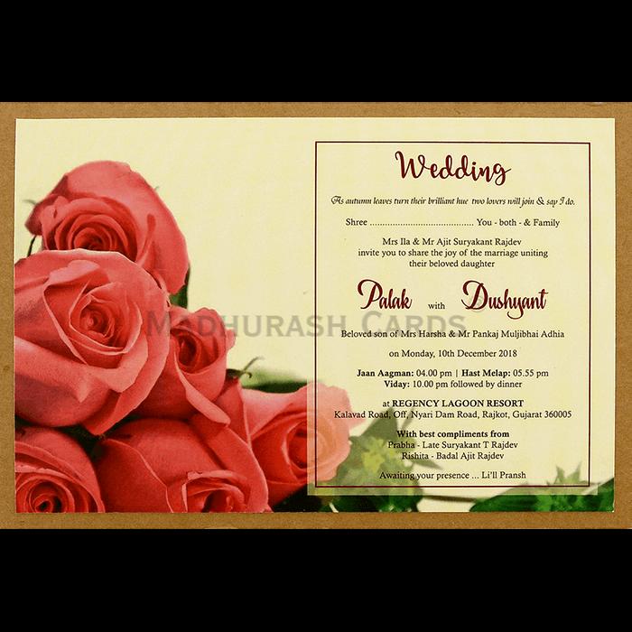 Kraft Wedding Invitations - KWC-8945 - 4