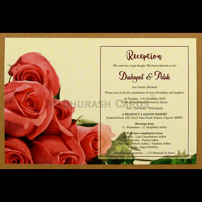 Kraft Wedding Invitations - KWC-8945 - 5