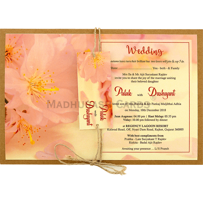test Custom Wedding Cards - CZC-8943