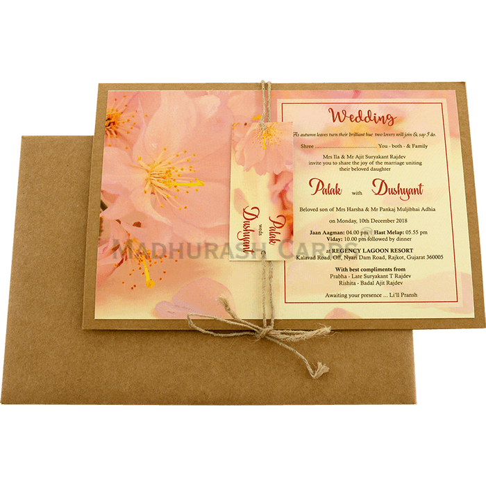 Custom Wedding Cards - CZC-8943 - 3
