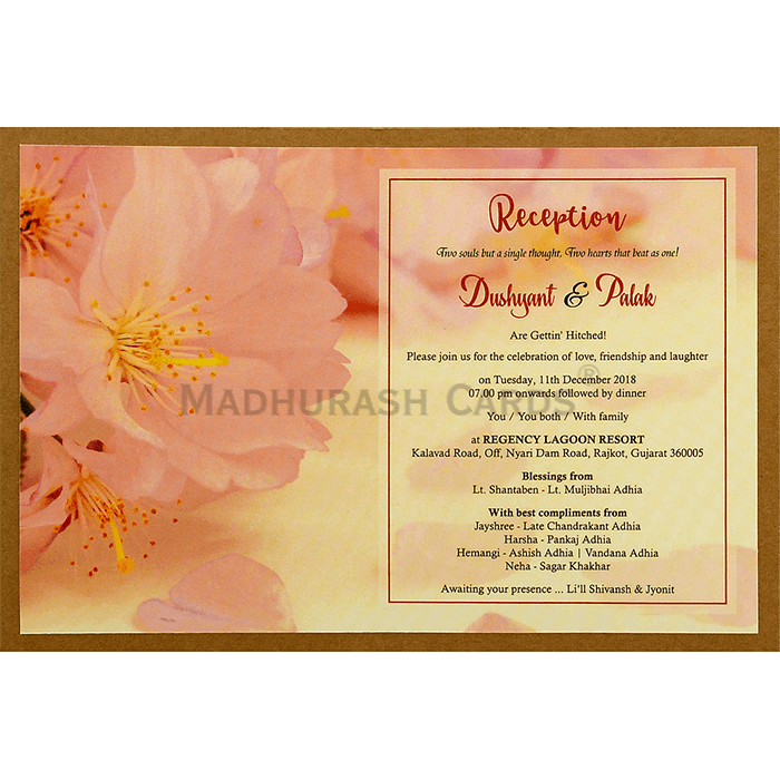 Custom Wedding Cards - CZC-8943 - 5