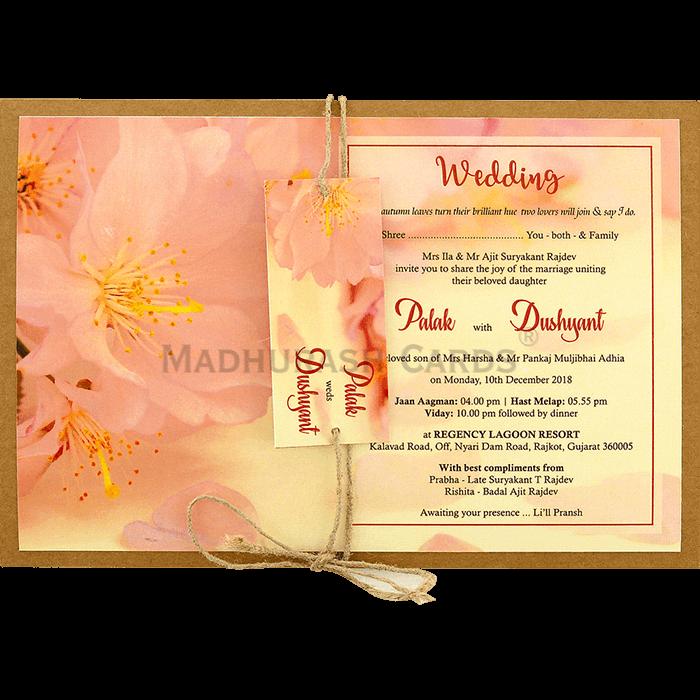 test Kraft Wedding Invitations - KWC-8943