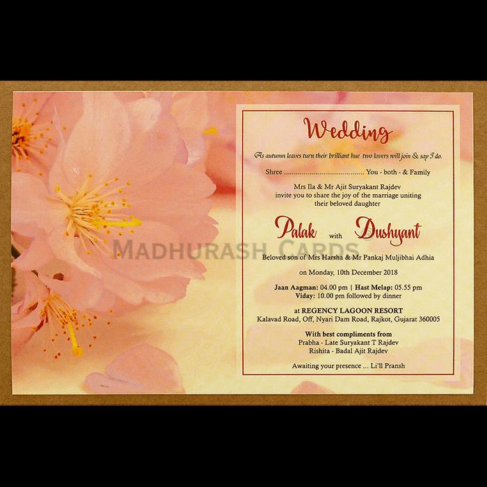 Kraft Wedding Invitations - KWC-8943 - 4