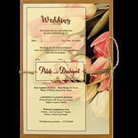 Kraft Wedding Invitations - KWC-8942