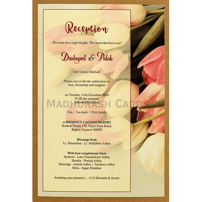 Kraft Wedding Invitations - KWC-8942 - 5