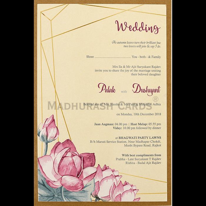 Kraft Wedding Invitations - KWC-9477 - 5