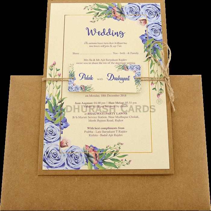 Custom Wedding Cards - CZC-9476 - 3