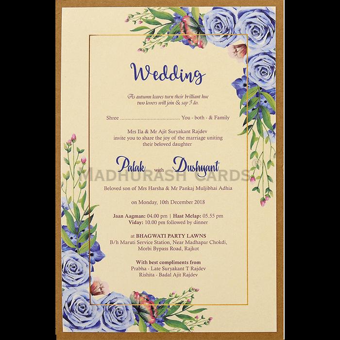 Custom Wedding Cards - CZC-9476 - 5