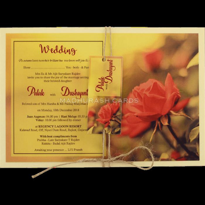 test Custom Wedding Cards - CZC-8956