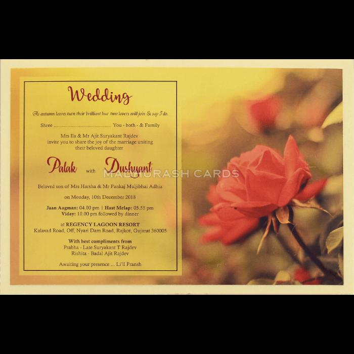 Custom Wedding Cards - CZC-8956 - 4
