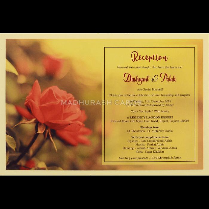 Custom Wedding Cards - CZC-8956 - 5