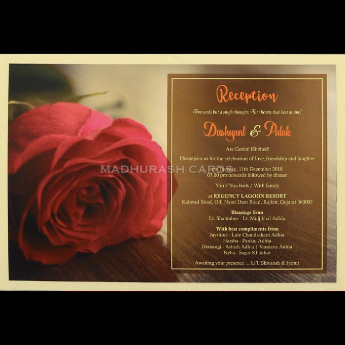 Custom Wedding Cards - CZC-8953 - 5