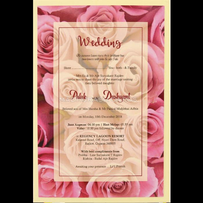 Custom Wedding Cards - CZC-8959 - 4