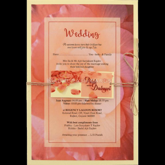 test Custom Wedding Cards - CZC-8957