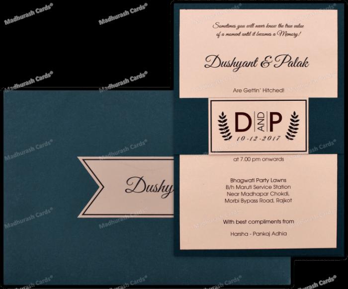 test Custom Wedding Cards - CZC-8921