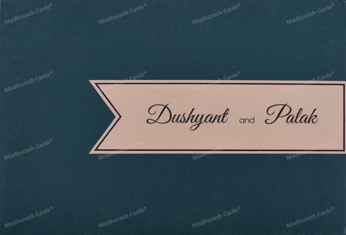 Custom Wedding Cards - CZC-8921 - 3