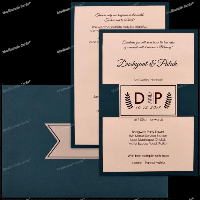 Custom Wedding Cards - CZC-8921 - 5
