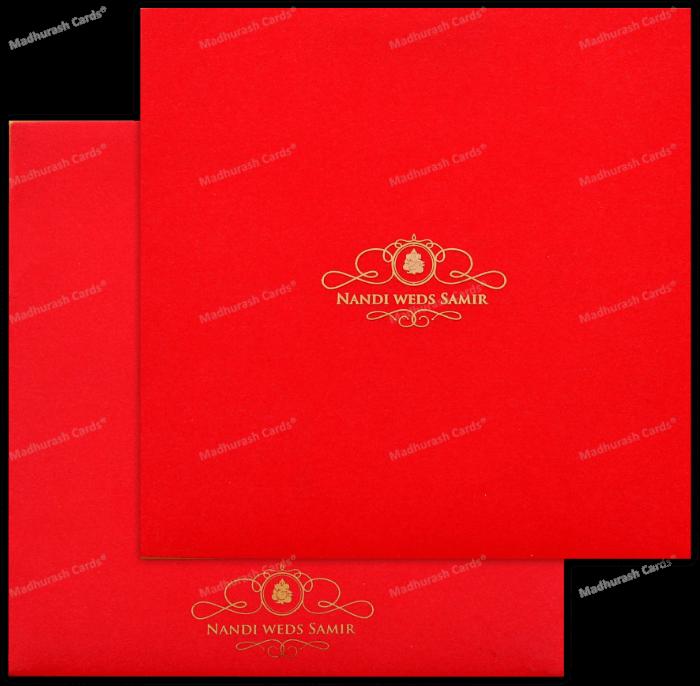 test Custom Wedding Cards - CZC-8891