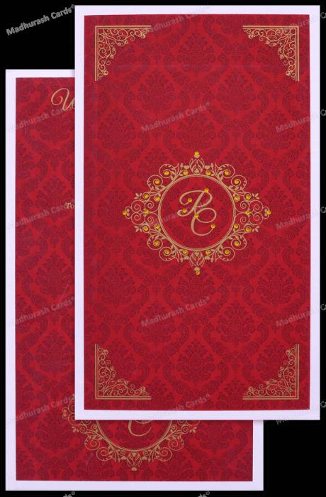 test Custom Wedding Cards - CZC-8892