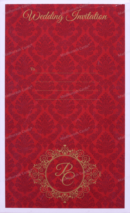 Custom Wedding Cards - CZC-8892 - 3