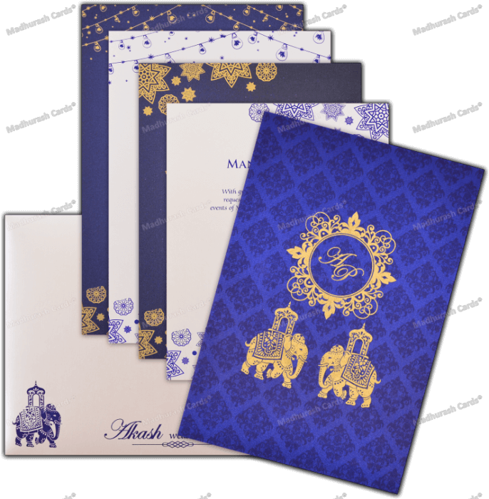 Custom Wedding Cards - CZC-9120 - 5