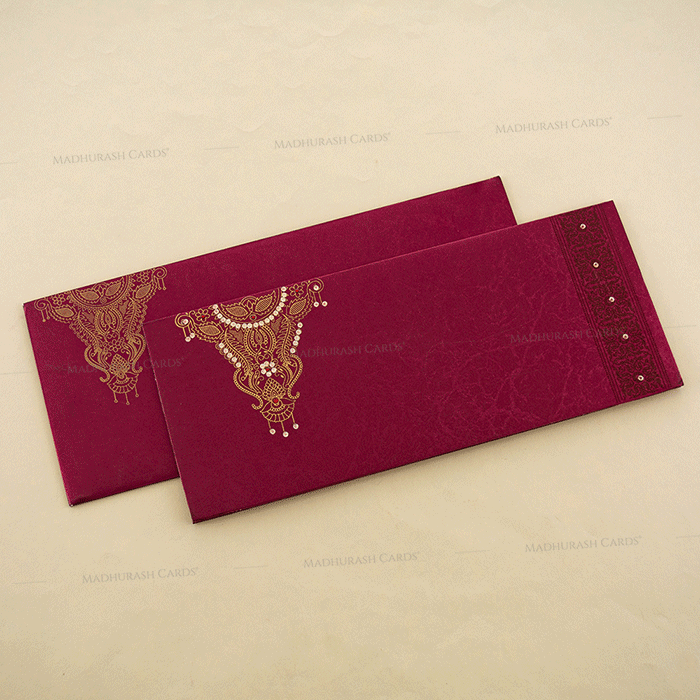 Hindu Wedding Cards - HWC-4108 - 2
