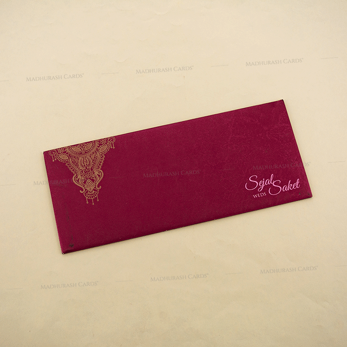 Hindu Wedding Cards - HWC-4108 - 3