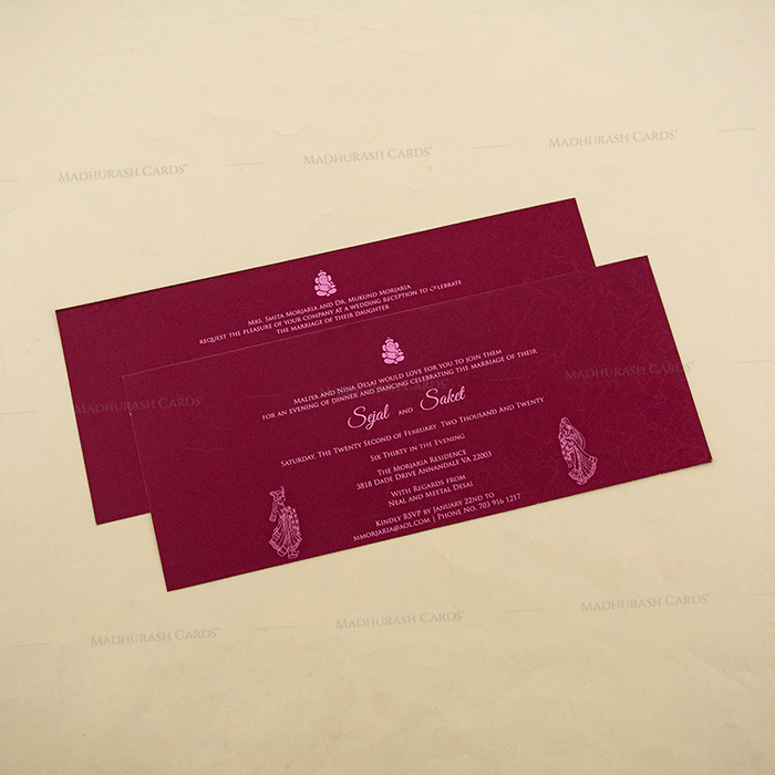 Hindu Wedding Cards - HWC-4108 - 4