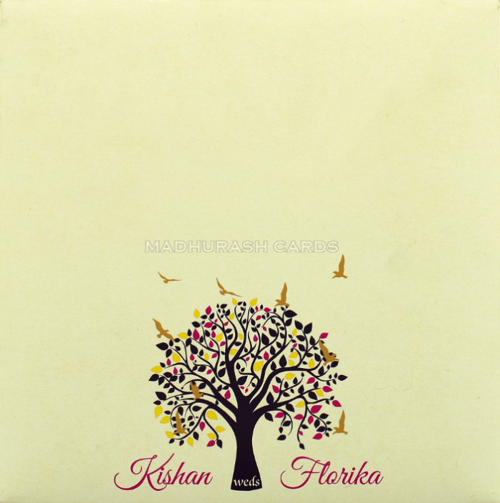 Custom Wedding Cards - CZC-8907A - 3