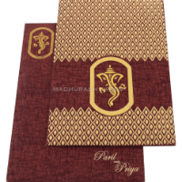 Designer Wedding Cards - DWC-18175