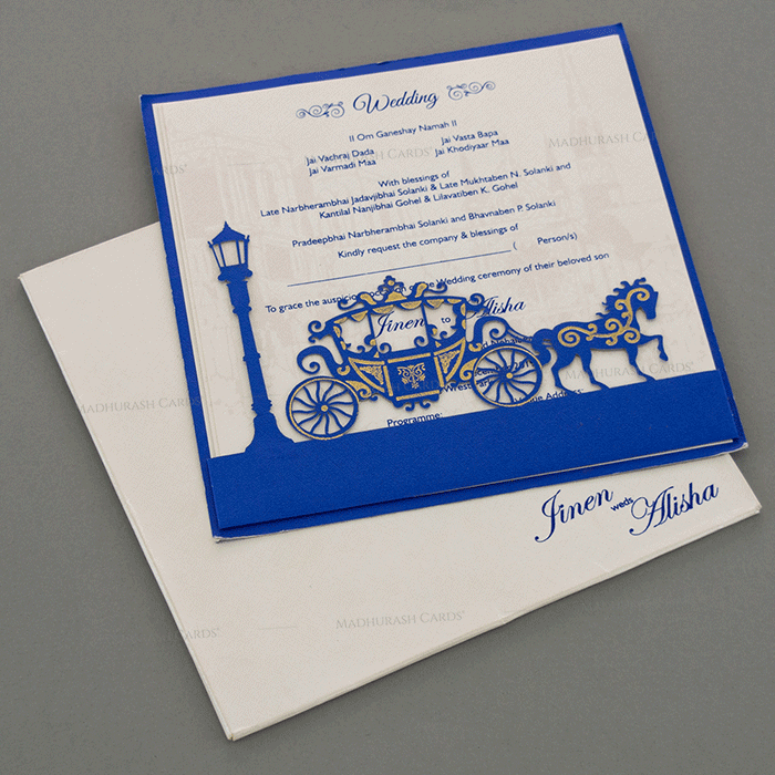 Laser Cut Invitations - LCC-18054 - 2