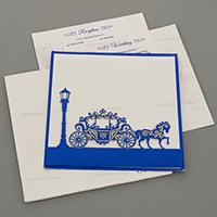 Designer Wedding Cards - DWC-18054