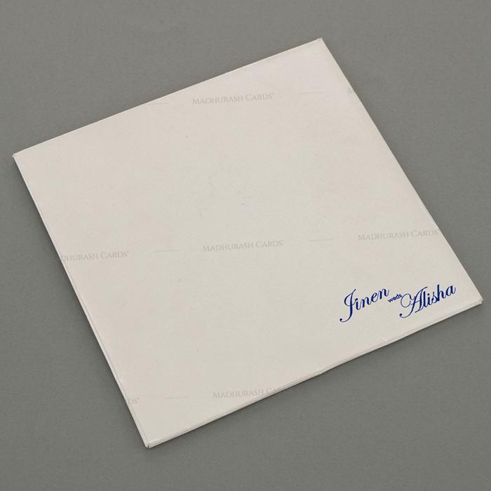 Designer Wedding Cards - DWC-18054 - 3