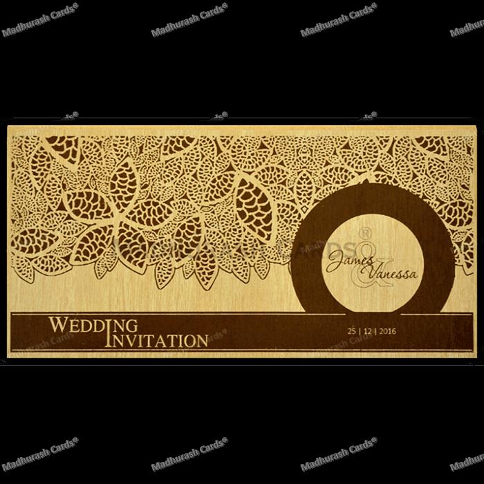 test Kraft Wedding Invitations - KWC-9204